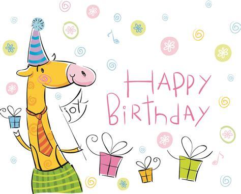 birthday wallpaper with cartoon vector cute cartoon happy birthday wallpaper 11578