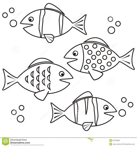 freshwater fish coloring book - Coloring Book Freshwater Fishes 1 ...