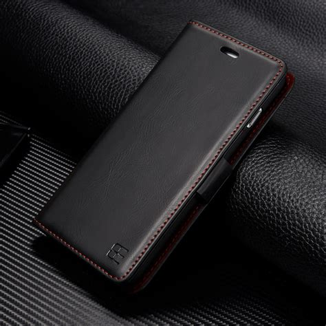 Luxury Wallet Flip Leather Iphone 10 X Casing Hp Kulit Premium luxury genuine pu leather flip wallet card cover for iphone x 6 6s 7 8 plus ebay