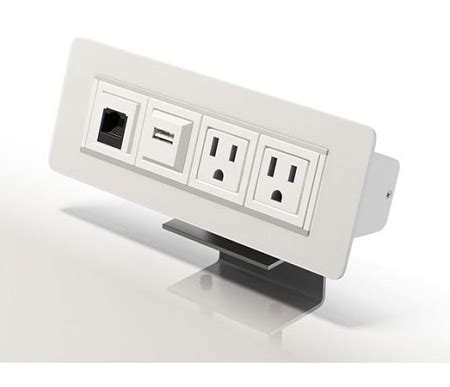 in desk power center axil x power and data center removable desk outlets