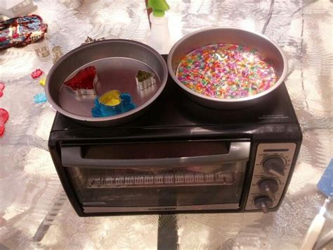 how to melt plastic in the oven moved toaster oven outside to eliminate awful odor of