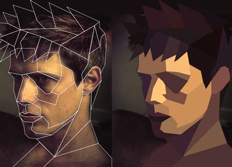 tutorial illustrator polygon create a polygon portrait poster design in 3 easy steps