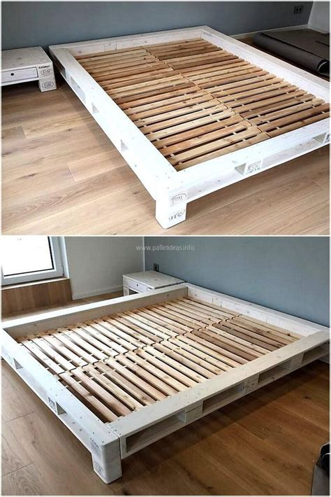 raising bed frame 278 best images about pallet beds on