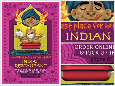 Indian Restaurant Flyer Template Flyerheroes Indian Menu Template Free