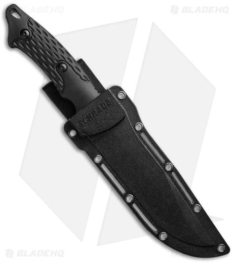 what is a fixed blade schrade fixed blade knife tang black tpe 5 quot black