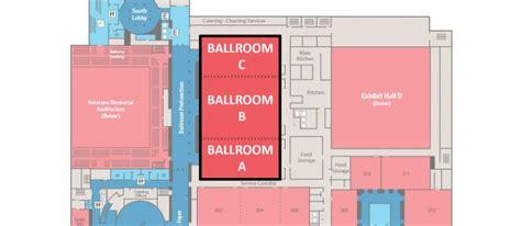 hynes convention center floor plan ballroom signature boston