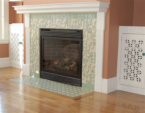 how to redo your fireplace tile fireplace remodel