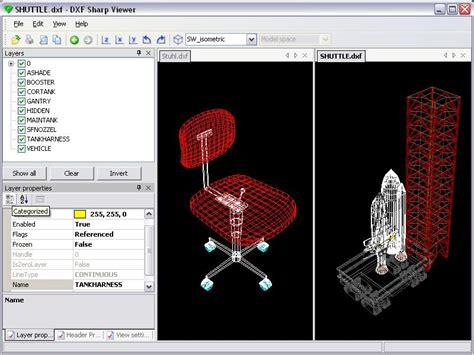dwg format versions screenshot of dxf sharp viewer version 2 0 22 0 wout ware