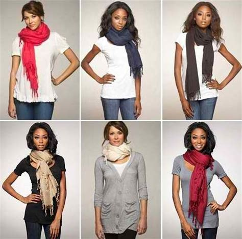 stylish ways to wear a scarf hairstyles makeup