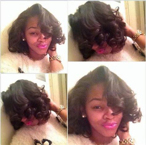 black hairstyles pressed hair natural silk press hairbyvanitystudio black hair