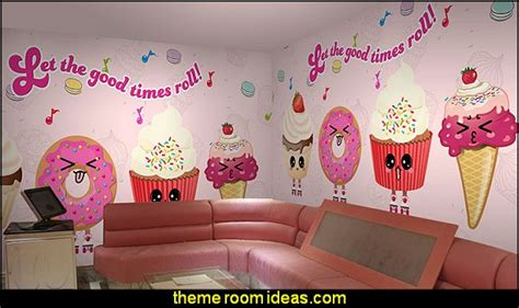 ice cream themed bedroom decorating theme bedrooms maries manor cafe kitchen