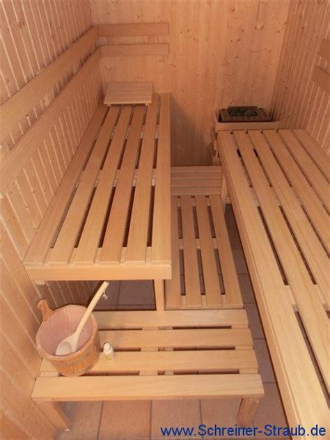 Sauna Einbau by Einbau Sauna Schreiner Straub Wellness Wohnen