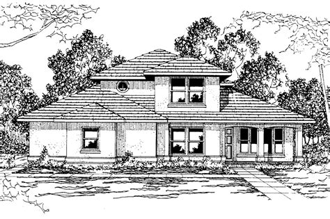 southwest home designs southwest house plans augusta 30 082 associated designs