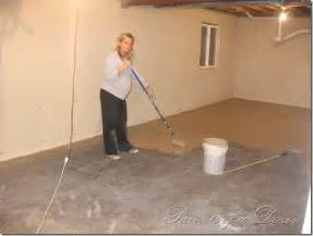 what to put on basement floor painting an unfinished basement so easy a can do it do it yourself