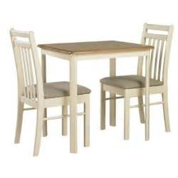 2 Chair Table Dining Sets Origin Ascot Dining Table And 2 Chairs In Oak And Ivory Furniture123