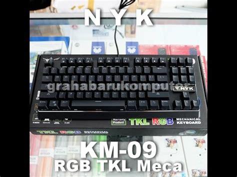 Keyboard Gaming Nyk Km 09 Km09 Mechanical Tkl Rgb km 09 videolike