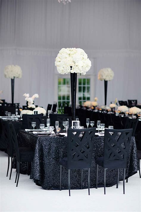 elegant black and white wedding that will wow you mon