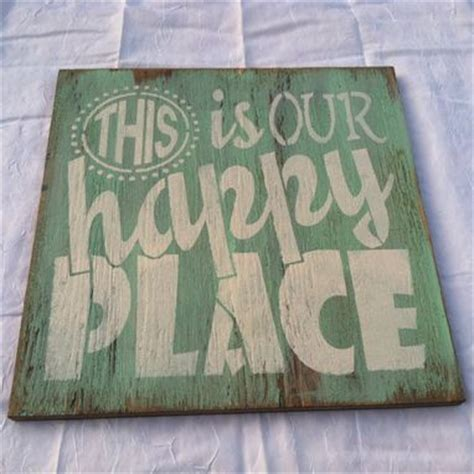 buy a made this is our happy place painted
