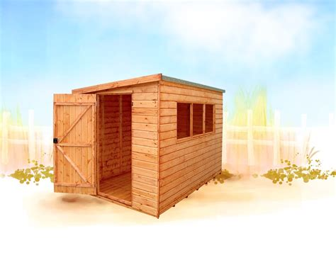 Sheds In Hertfordshire by Kent Pent Pent Roof Sheds By Ips Fencing In