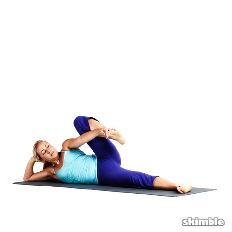 side reclining leg lift right side reclining leg lift exercise how to workout