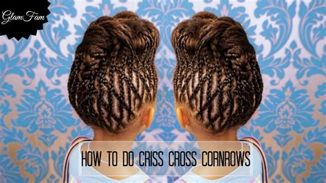 Criss Cross Hairstyles by How To Do Criss Cross Braids Braided Hairstyles