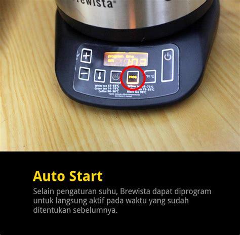 Teko Listrik Ukuran Besar brewista smart pour kettle cikopi