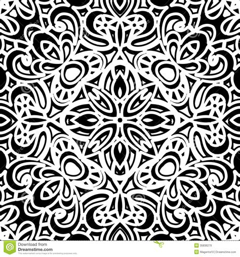 black and white retro pattern vintage pattern royalty free stock images image 35836279
