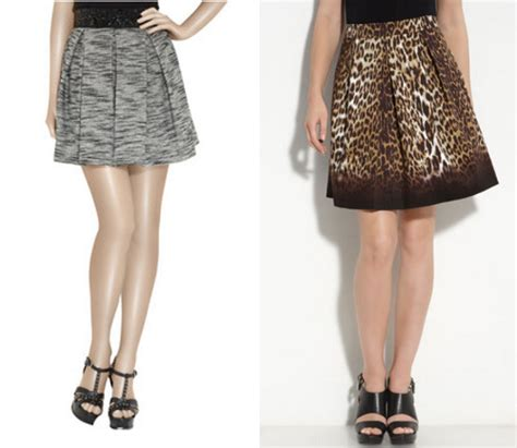 best fall skirt trends for hourglass figures