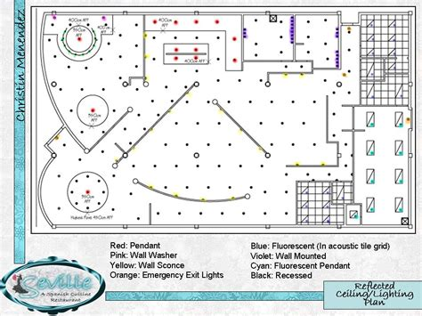 ceiling plan restaurant Reflected Ceiling/Lighting Plan (non rendered AutoCAD drawing) The