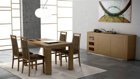 comedor de madera de estilo moderno imagenes  fotos