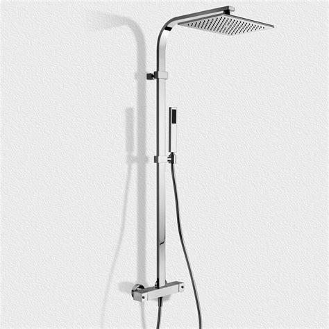 colonna doccia colonna doccia termostatica squadrata paffoni zcol665cr