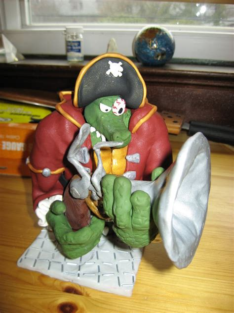 king k rool figure kaptain k rool by awasai on deviantart