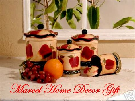 Apple Decor For Kitchen by Apple Kitchen Decor Sets Bloggerluv
