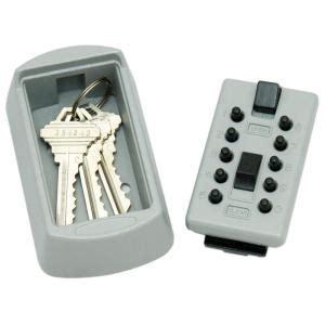 home depot key lock box lockstate keydock wall mount 5 key lock box safe