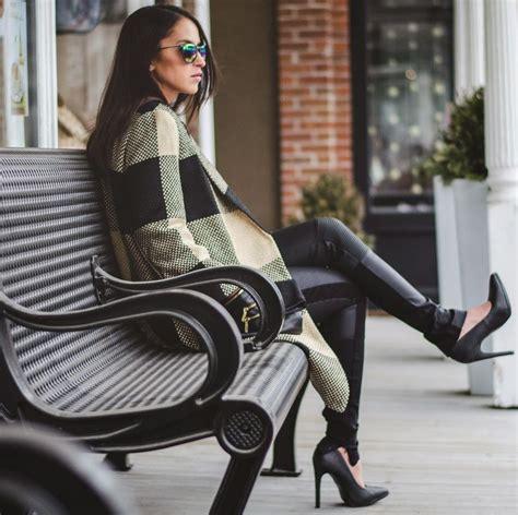 Zara City Metal 26x21x16 heels russe qupid black python textured pointy toe pumps coat zara checked coat