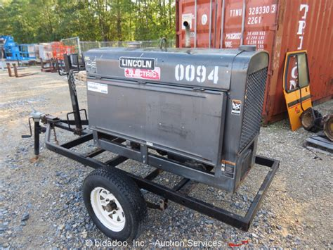 lincoln 300d welder 2008 lincoln classic 300d diesel towable welder generator