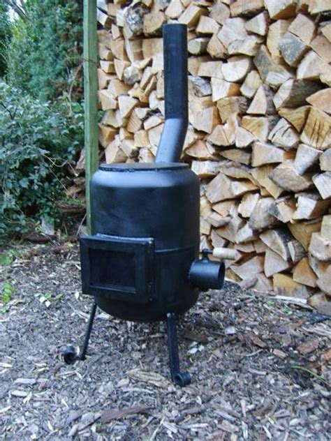 Propane Tank Chiminea by 1000 Images About Gas Bottle Chiminea Patio Heater On
