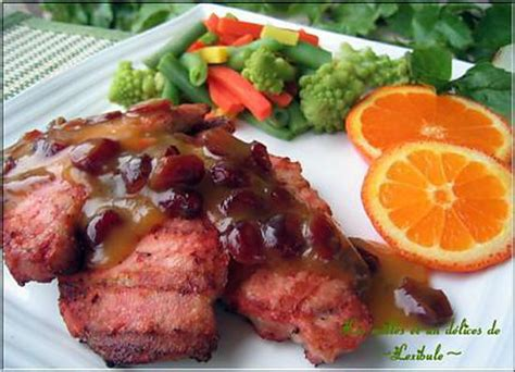 cari orange recette de c 244 telettes de porc au cari rouge sauce 224 l orange