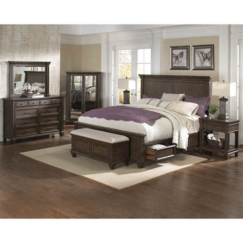 Solid Wood Bedroom Sets For Sale by Shop Simply Solid Logan Solid Wood 5 Bedroom