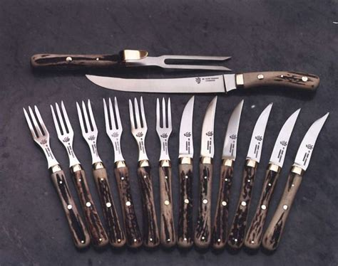 Kitchen Forks And Knives | carving set rory conner knives
