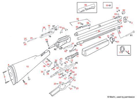marlin c 9 parts diagram marlin 174 1894 despieces brownells iberica