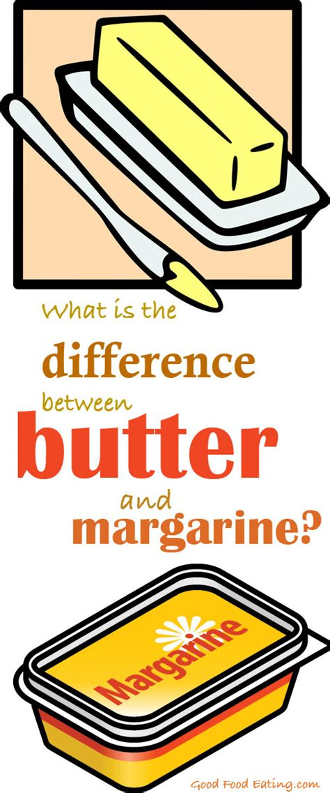 what is the difference between butter and margarine