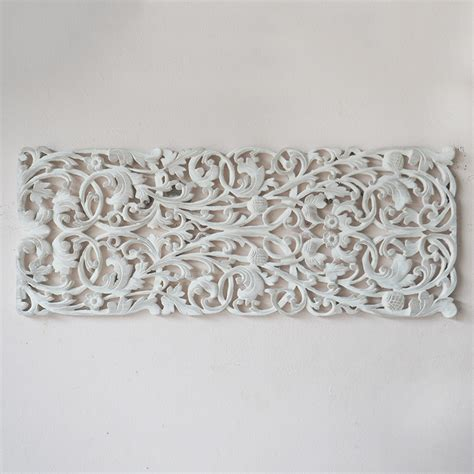 buy thai wood carving wall hanging