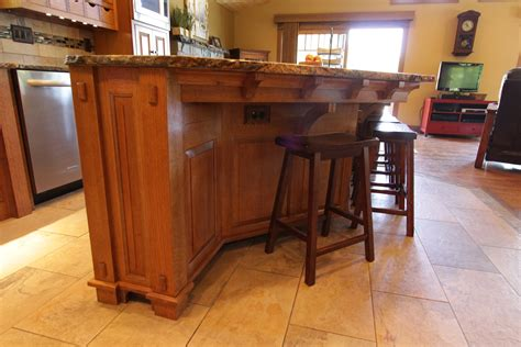 craftsman style brackets kitchen islands with corbels affordable custom cabinets showroom