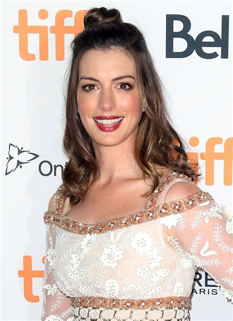 anne hathaway colossal premiere at the tiff in toronto