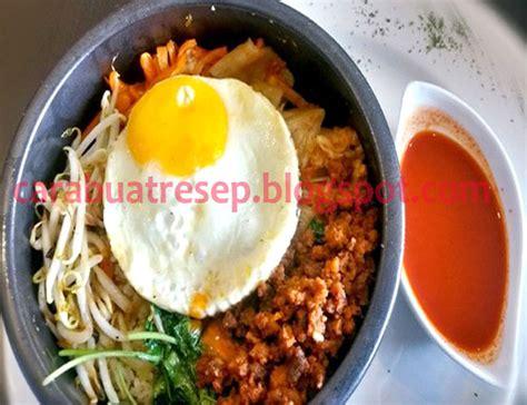 membuat masakan korea selatan halal resep masakan