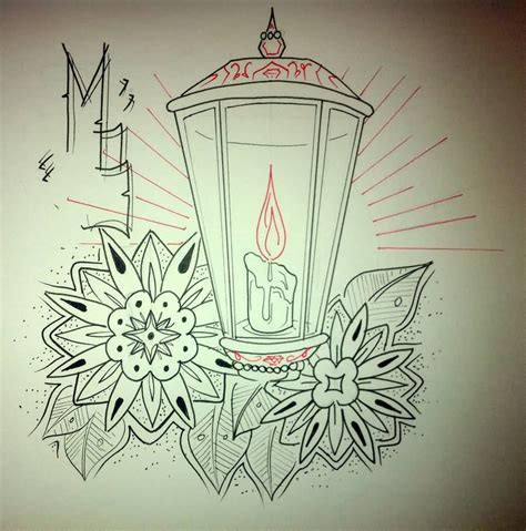 easy tattoo designs to draw 60 outstanding candle lantern designs and pictures