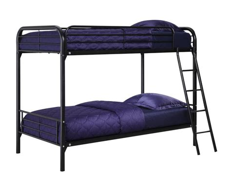 metal bunk bed metal twin bunk beds as main furniture in bedroom
