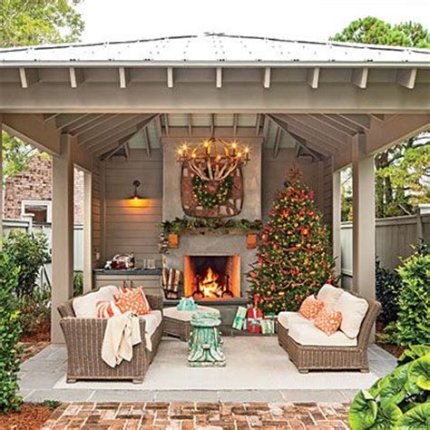 backyard fireplace ideas bring the holidays outside glowing outdoor fireplace ideas outdoor living