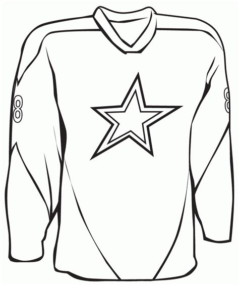 sports jersey coloring page az coloring pages